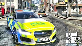 GTA 5 MODS LSPDFR 1074 - BRITISH PATROL!!! (GTA 5 REAL LIFE PC MOD)