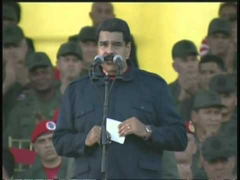 Maduro llamó a los militares a volver a los cuarteles