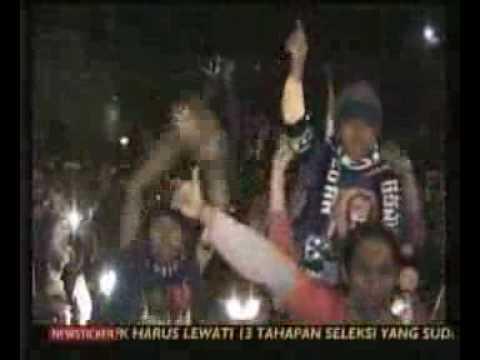Arema Juara Liga Super Indonesia 2009/2010