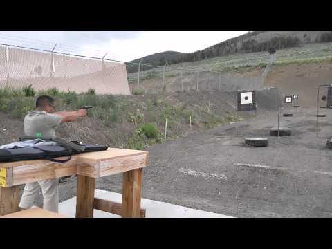 Rapid fire Zastava M70A