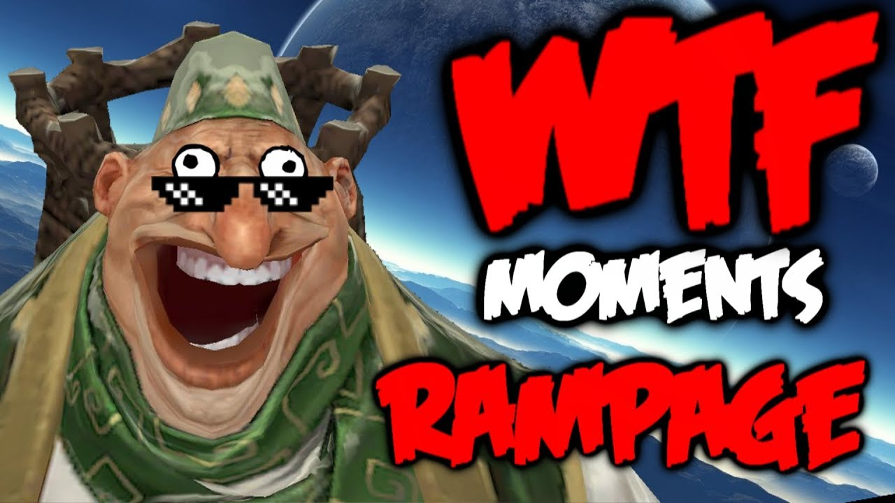 Dota 2 WTF Rampage Compilation 7