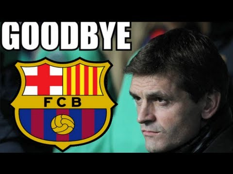 Tito Vilanova Resigns at Barcelona