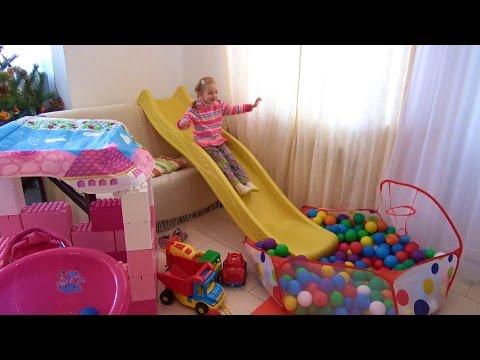Развлечения для Детей Игровая Комната в Квартире