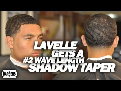 HOW TO: SHADOW TAPER #2 ON TOP / WAVE LENGTH TAPER FADE - HAIR CUT TUTORIAL - LEARN - HD