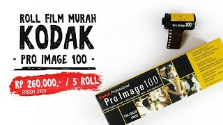 [UNBOXING] Film 35mm Kodak Professional KODAK PRO IMAGE 100