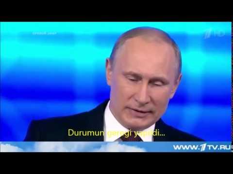 Putin Ukrayna olaylari -Türkçe alt yazılı