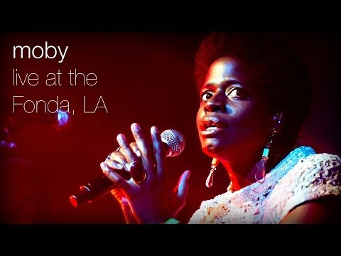 Moby - Flower (Live at The Fonda, L.A.)