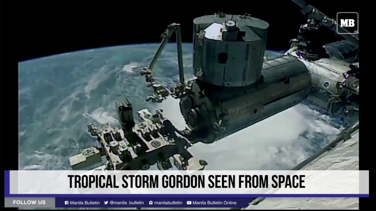 Tropical Storm Gordon seen from space