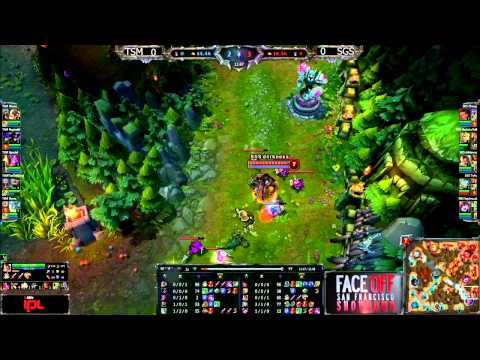 TSM vs Singapore Sentinels - Game 1 - IPL Face Off - League of Legends