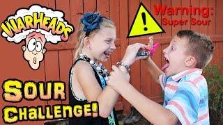 Sour Warheads Drops Challenge!