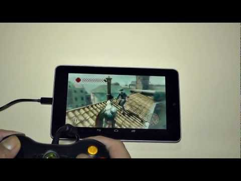 Console gaming on Nexus 7
