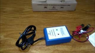 review Carregador de bateria 12V 2A automatico carro,moto,barco,som