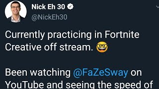 Nick Eh 30 said this about me.