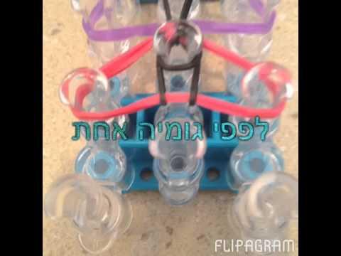 ריינבו לום - איך מכינים מחזיק מפתחות מגומיות - ענבר רואה | Look
