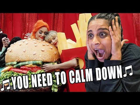 Reacting To YOU NEED TO CALM DOWN By TAYLOR SWIFT