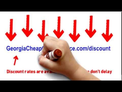 Auto Insurance In Georgia | Save up to 50%* On Car Insurance In Georgia - (Stop Overpaying)