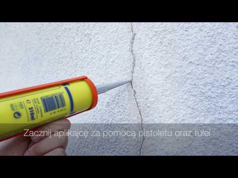 Jak Wypełnić Pęknięcia W ścianach | Elastyczna Masa Naprawcza Do Uszczelniania | Szczeliny W ścianie