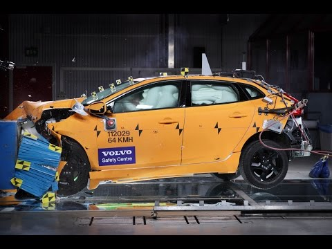 The  Volvo V40 Crash Test