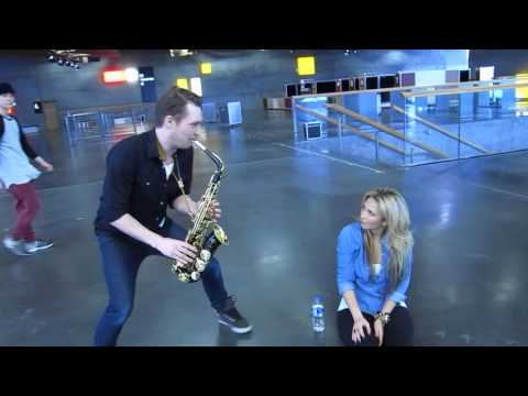 Natascha Bessez and Michael Rune- Behind The Scenes- 'Wanna Be Loved' -DMGP Performance 2014