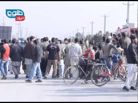 TOLOnews 27 Nov 2014 Kabul Attack/ طلوع نیوز ۰۶ قوس حمله انتحاری کابل