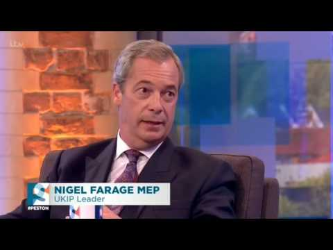 Nigel Farage Interviewed by Robert Peston - 19th June 2016