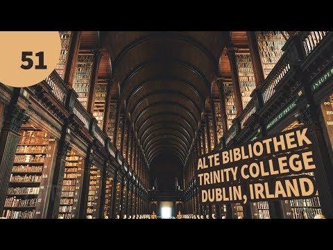 Alte Bibliothek Trinity College Dublin Irland | Bücher | ATRI-TV | Fotografie