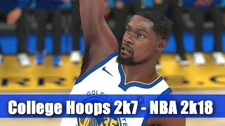 Kevin Durant Through the years - College Hoops 2k7 - NBA 2k18