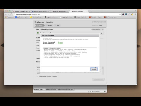 Part 1: Duplicator WordPress Plugin Tutorial - Jan 2014 update