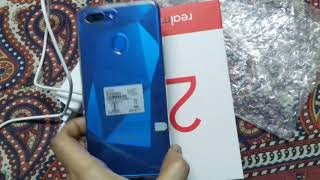 Realme 2 diamond blue colour unboxing