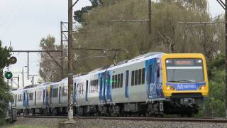Metro Trains Melbourne X'trapolis passenger trains - PoathTV Railroads and Trains in Australia