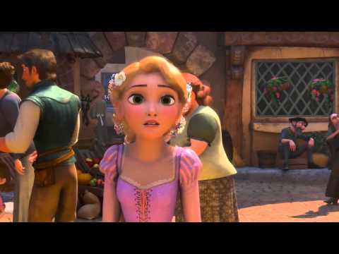 Disney Princess - Tangled (Rapunzel) -Kingdom Dance (720p)