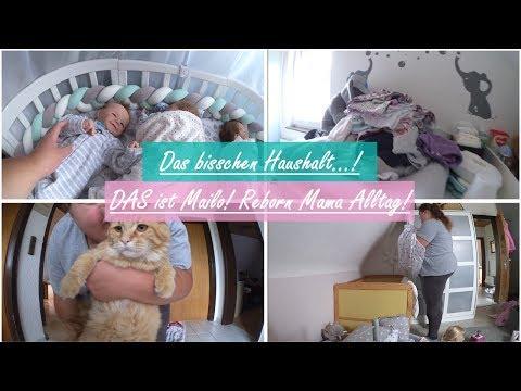 VLOG! || Viel zu tun! || Melinas Schlafanzugtag! || Reborn Baby Deutsch || Little Reborn Nursery