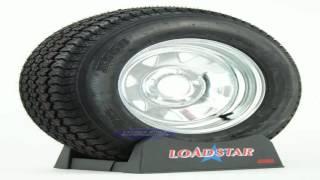 Trailer Tire Rim 4.80 12 480 12 4.80X12 12 LRB 5 Lug Wheel Galvanized Spoke