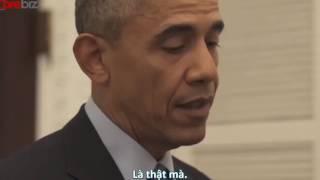 Bất ngờ trước khả năng... diễn hài của Tổng thống Obama