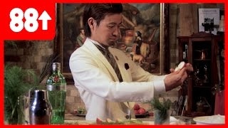 Making a Gin Apple & Fennel Cocktail | Japan