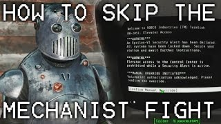 Fallout 4 Automatron How to Skip The Mechanist Fight