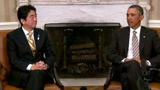 (white house) President Obama's Bilateral Meeting with Prime Minister Abe of Japan  2/22/13