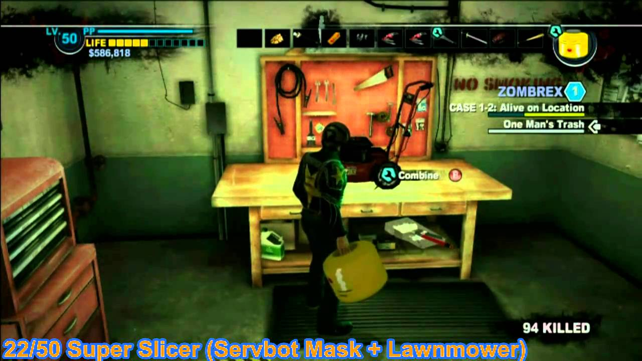 Crafting Recipes For Dead Rising