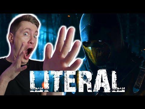 Литерал - Mortal Kombat X РЕАКЦИЯ
