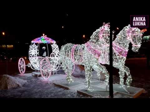 Новогодний клип 2017 Новогодние песни by Anika Lukina