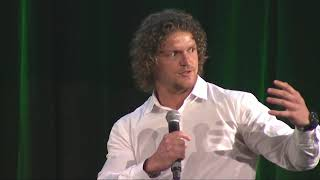 The Honey Badger at the Australia v New Zealand Rugby Lunch 2017
