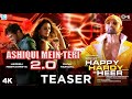 Ashiqui Mein Teri 2.0 Teaser - Happy Hardy And Heer | Himesh Reshammiya, Ranu Mondal | Song Out Now thumbnail