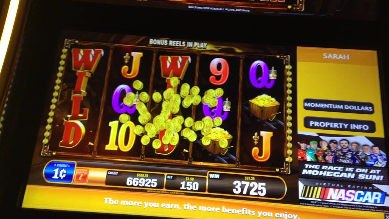 gold mine slot machine