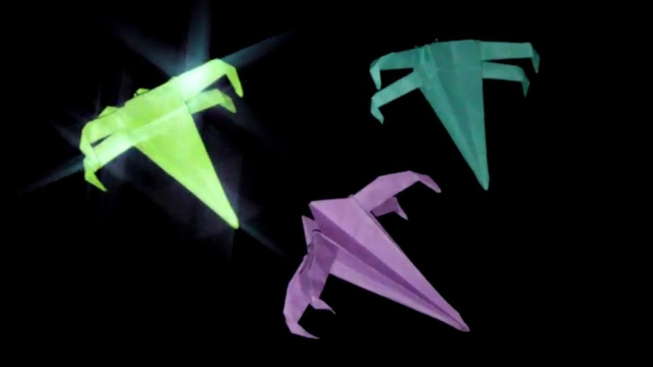 Origami X-WING Star Wars: Faltanleitung [HD] - YouTube - photo#45