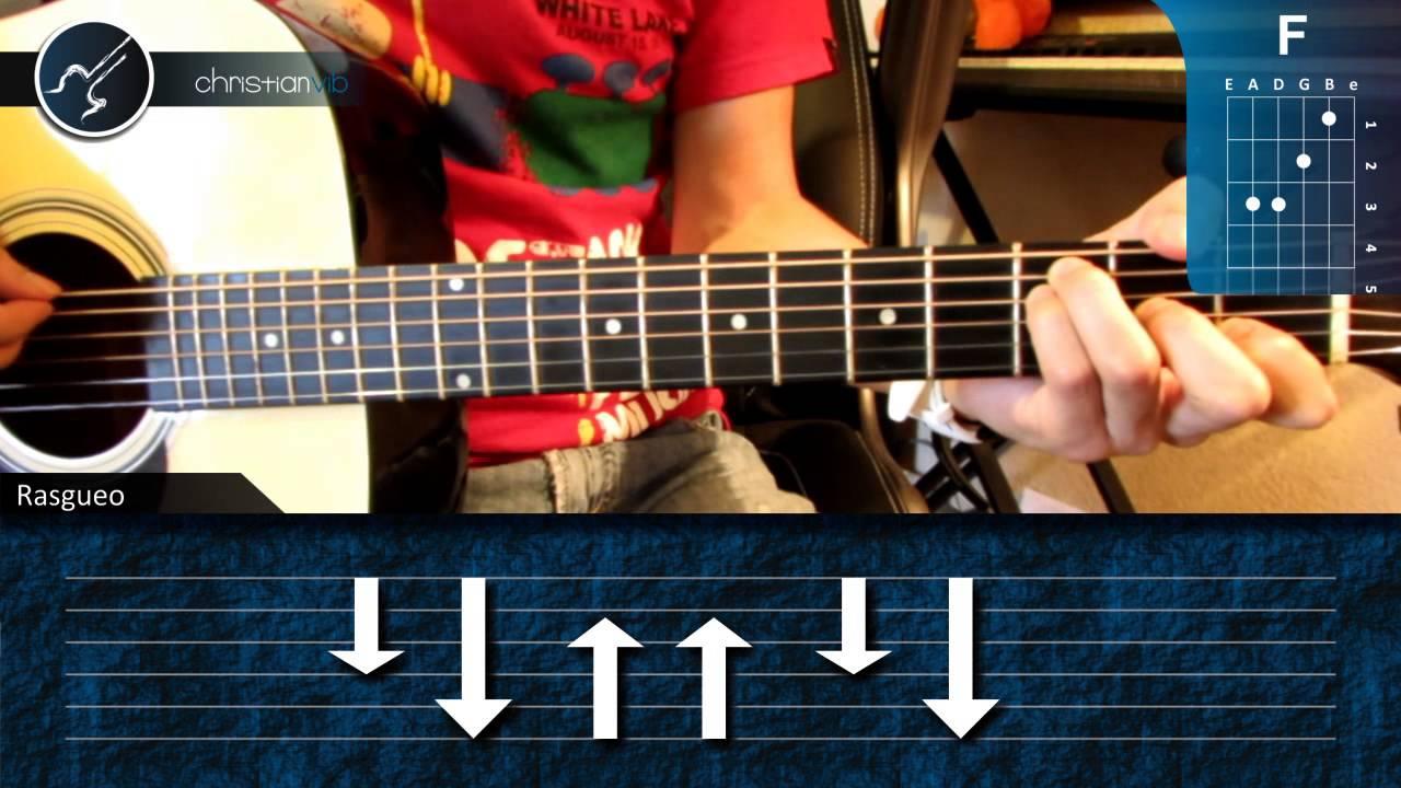 """Cómo tocar """"La Noche"""" de Sandoval en Guitarra Acústica (HD) Tutorial"""