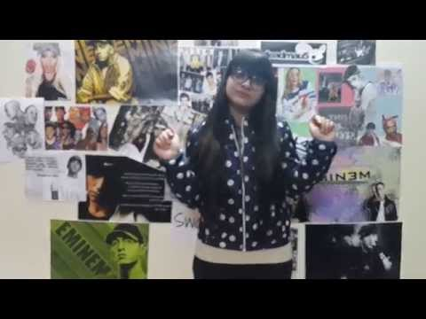Eminem Rap God (cover)-first Youngest Indian Girl Rapper video
