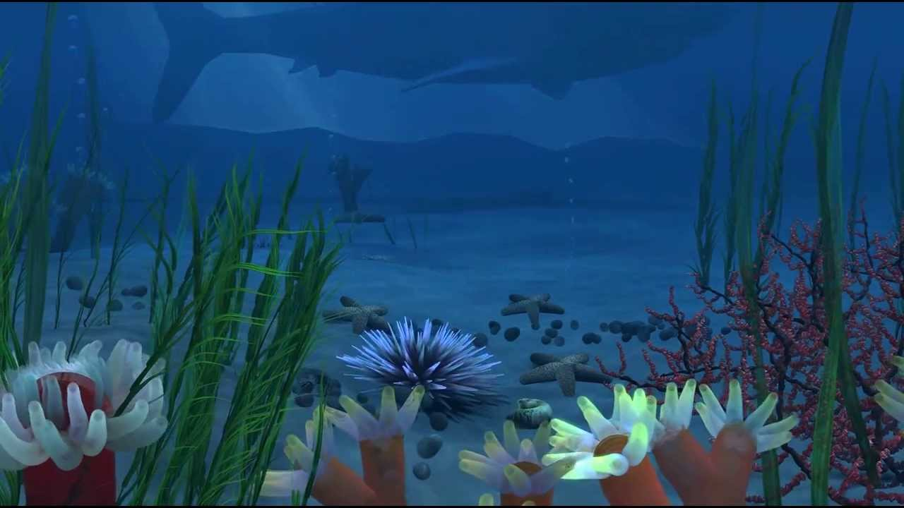 Underwater Scene using Paint Effects in Autodesk Maya ...