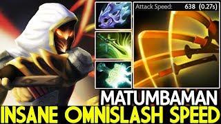 Matumbaman [Juggernaut] Insane Omnislash Max Attack Speed 4 Hit/Sec 7.21 Dota 2