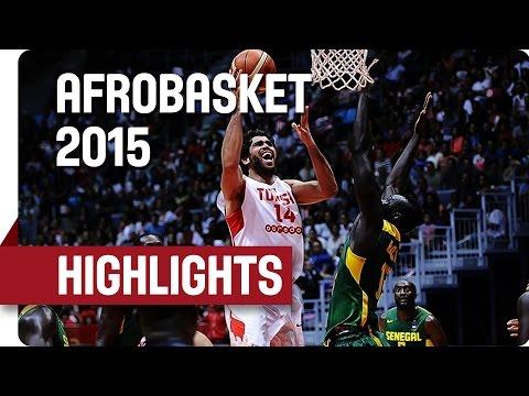 Tunisia v Senegal - Game Highlights - 3rd Place Game - AfroBasket 2015
