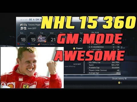 NHL 15 360: GM Mode is AWESOME